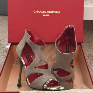 Charles Jourdan, Paris stiletto heel.  Worn once.